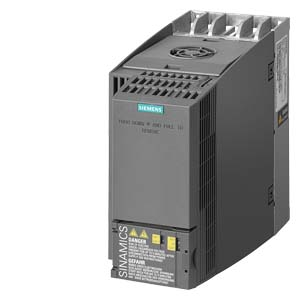 SINAMICS G120C RATED POWER 0,55KW WITH 150% OVERLOAD FOR 3 SEC 3AC380 480V +10  20% 47 63HZ INTEGRATED FILTER CLASS A Input and output INTERFACE. 6DI, 2DO,1AI,1AO SAFE TORQUE OFF INTEGRATED FIELDBUS. USS  MODBUS Remote Terminal Unit [RTU]. PROTECTION. IP20  UL OPEN TYPE SIZE. FSAA 173X73X155[HXWXD] EXTERNAL 24V